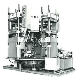 ロータリー式油圧プレス機